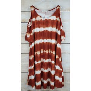 Entro Tie Dyed Dress in a Large